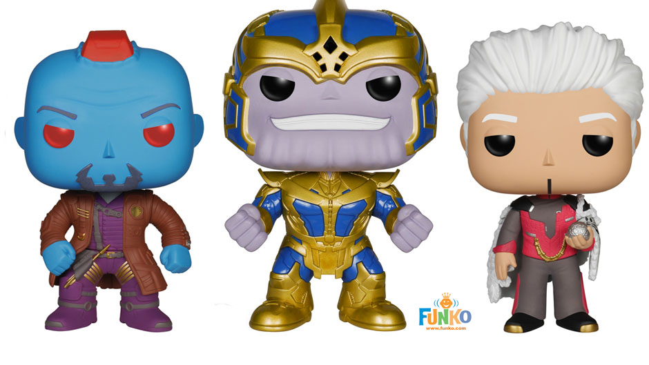 New Funko Guardians Of The Galaxy Pop Figures Series 2