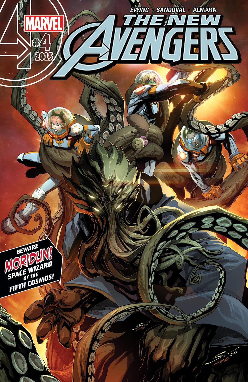 New Avengers (2015) #4