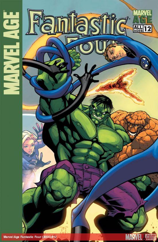 Marvel Age Fantastic Four (2004) #12