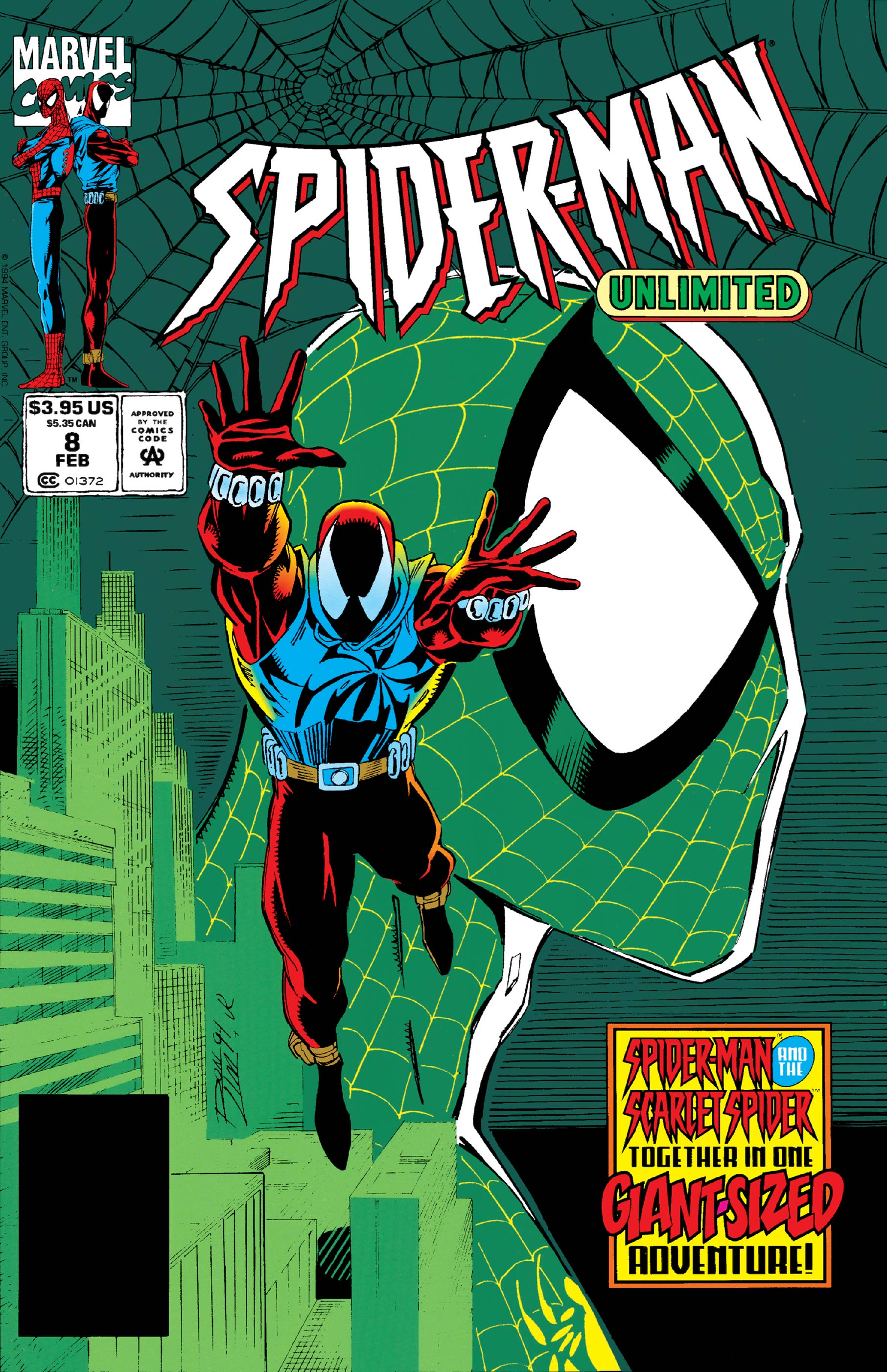 Spider-Man Unlimited (1993) #8