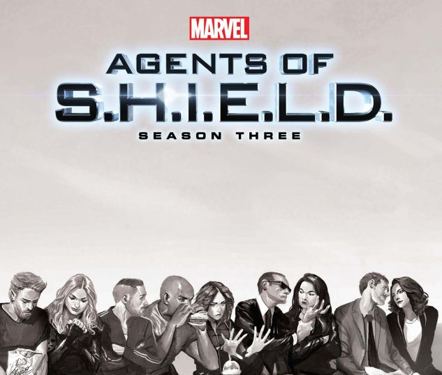 cover to Guidebook to the Marvel Cinematic Universe - Marvel's Agents of S.H.I.E.L.D. Season Three (2016)