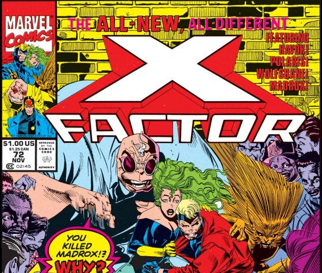 X-Factor (1986) #72