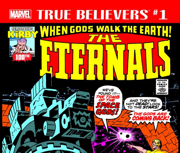 cover from True Believers: Kirby 100th - Eternals (2017) #1