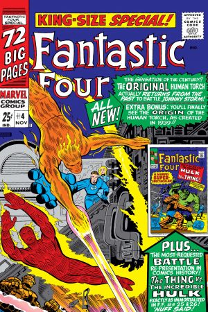Fantastic Four Annual (1963) #4