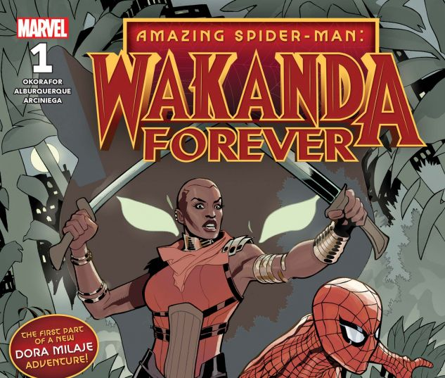cover from Amazing Spider-Man: Wakanda Forever (2018) #1