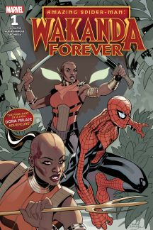 WAKANDA FOREVER: AMAZING SPIDER-MAN 1 #1
