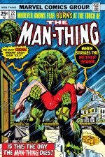 Man-Thing (1974) #22 cover
