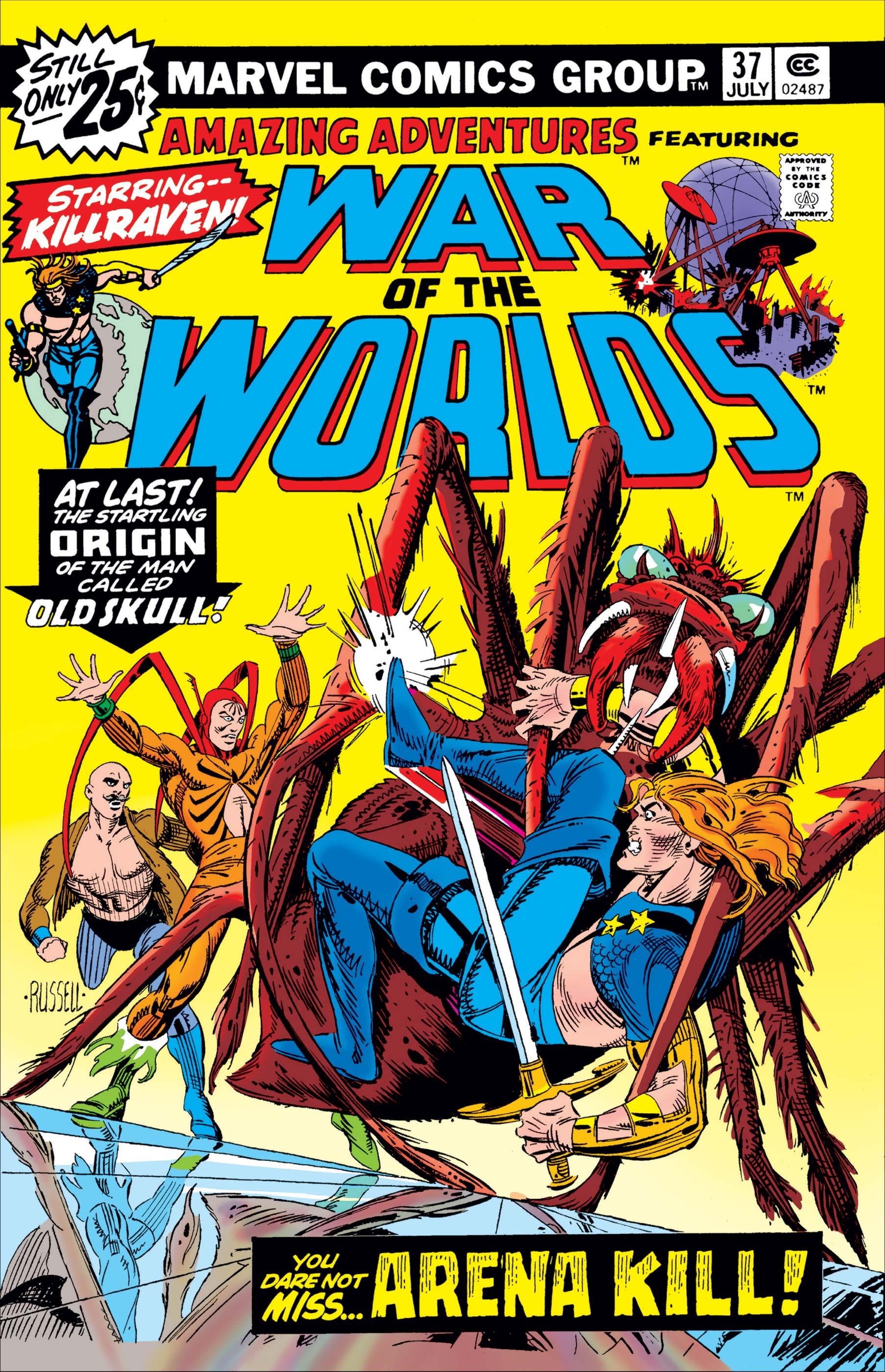 Amazing Adventures (1970) #37