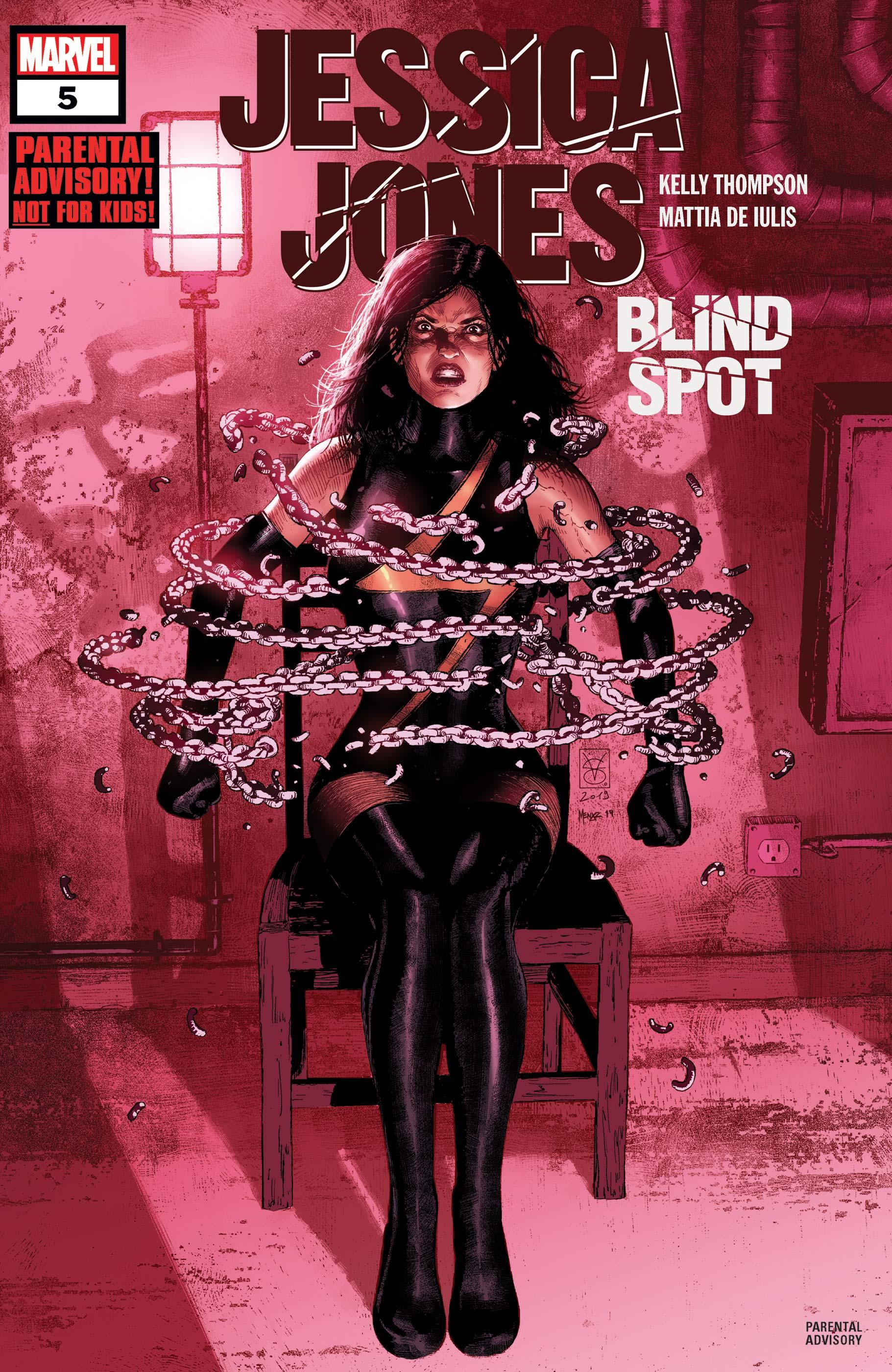 Jessica Jones: Blind Spot (2020) #5