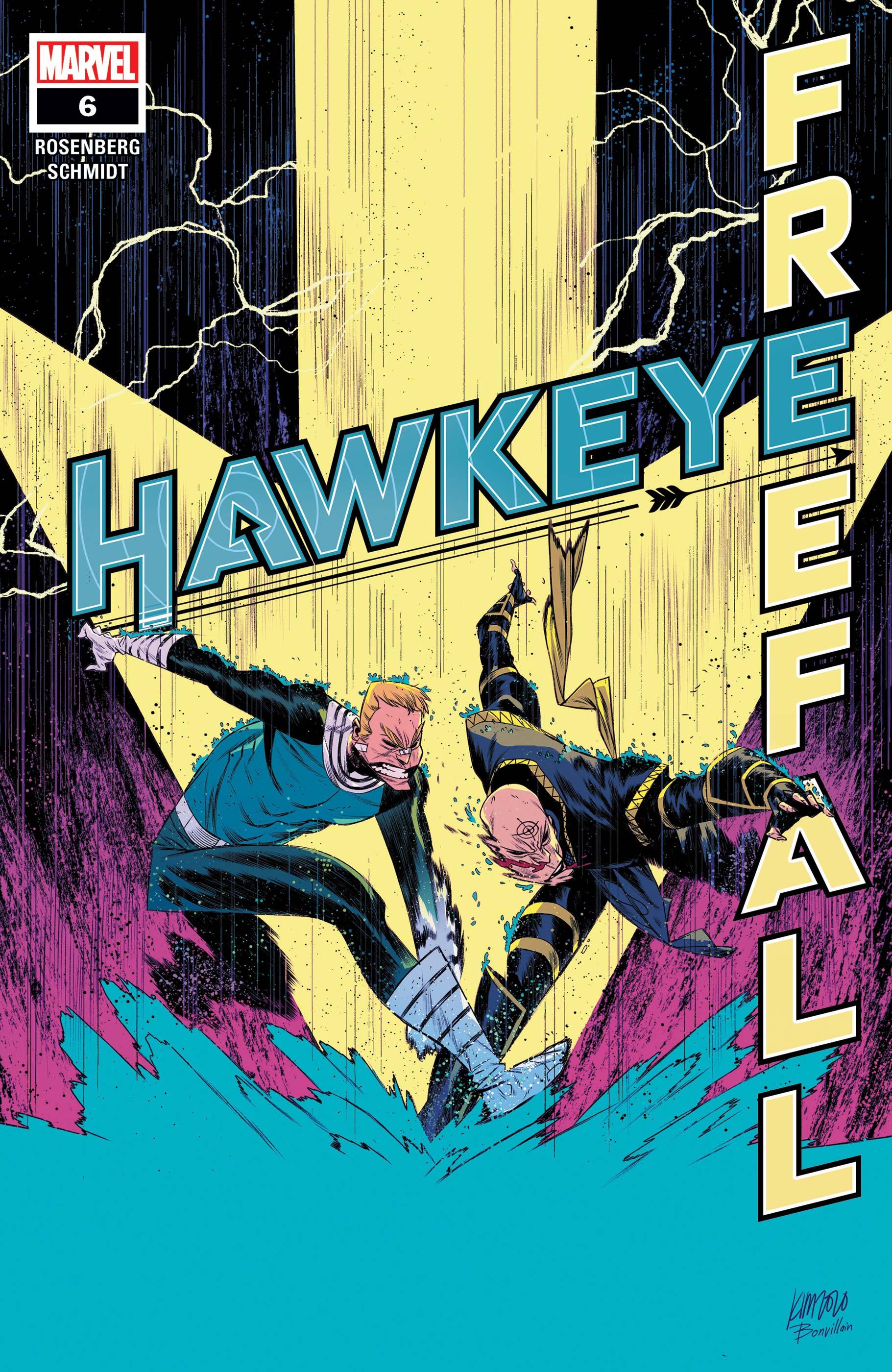 Hawkeye: Freefall (2020) #6