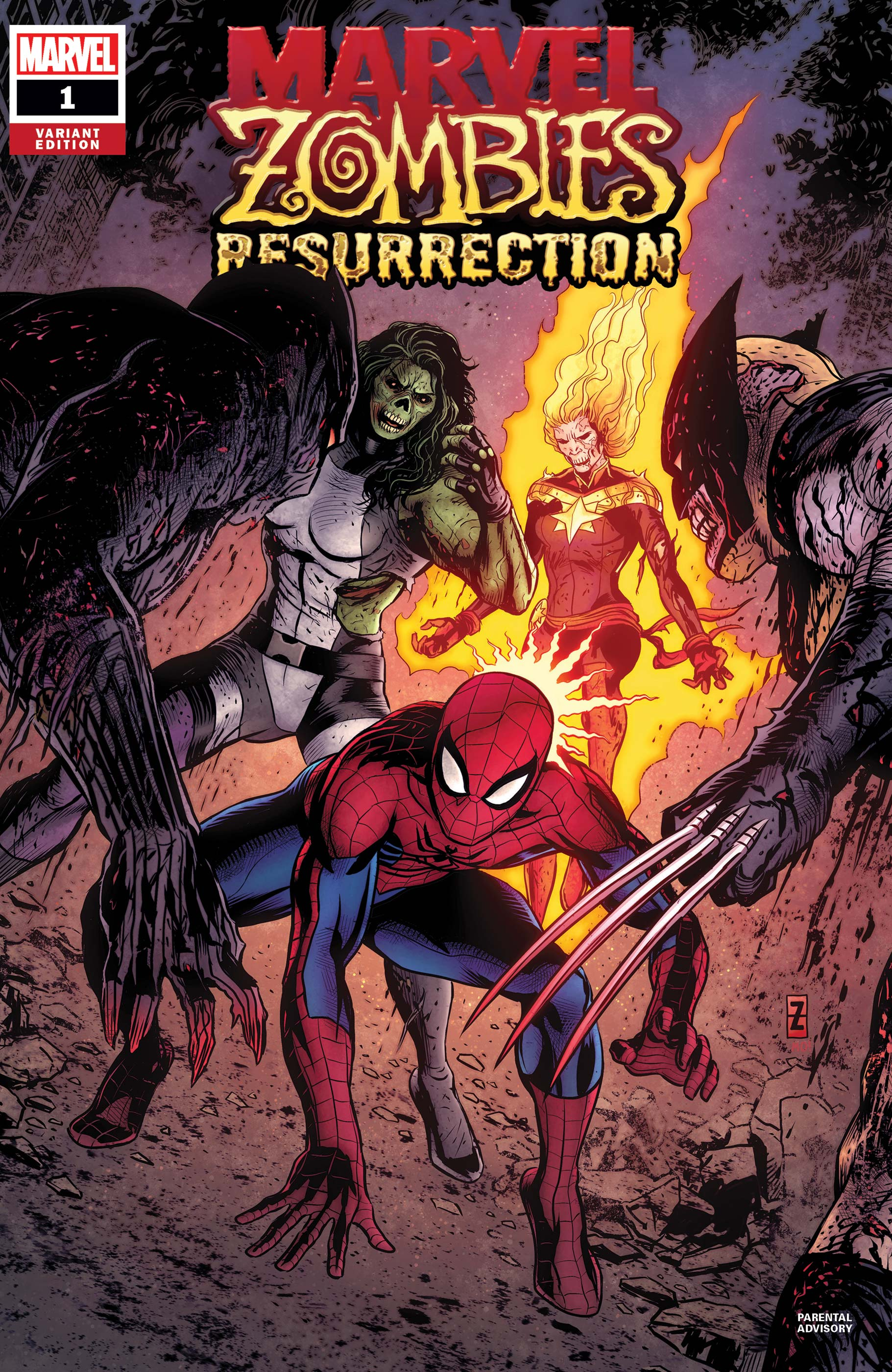 Marvel Zombies: Resurrection (2020) #1 (Variant)