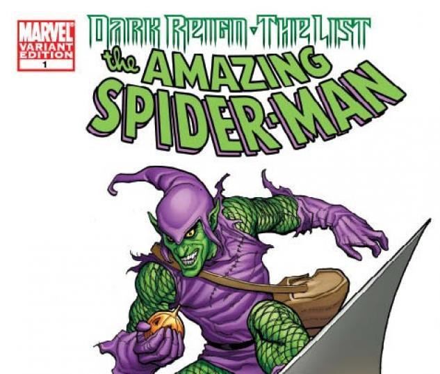 Dark Reign: The List - Amazing Spider-Man One-Shot (2009) #1 (VILLAIN VARIANT)