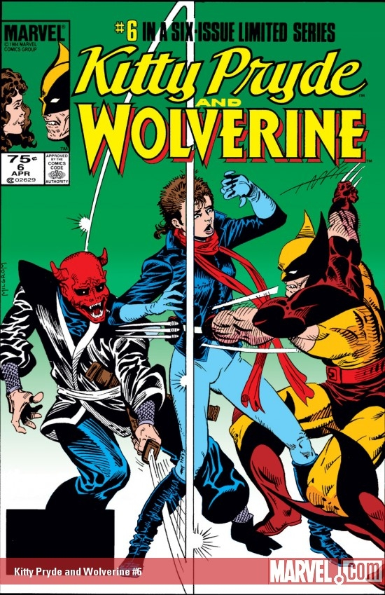 Kitty Pryde and Wolverine (1984) #6