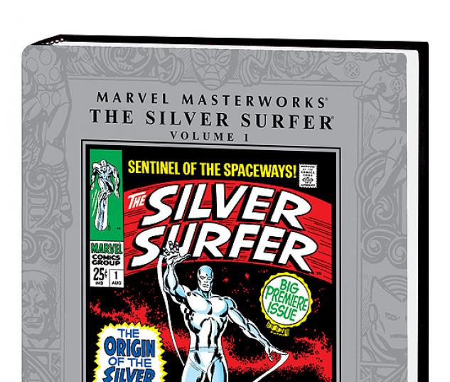 MARVEL MASTERWORKS: THE SILVER SURFER VOL. 1 HC (2ND EDITION, 2ND #0
