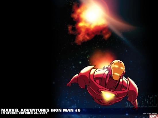Marvel Adventures Iron Man (2007) #6 Wallpaper