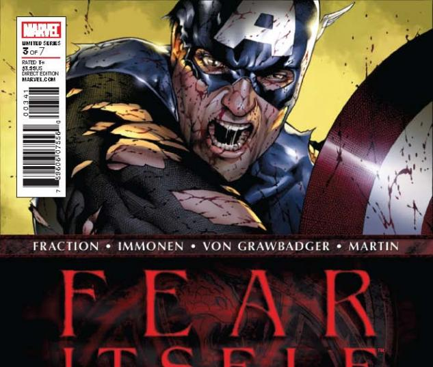 Fear Itself (2010) #3, 2nd Printing Variant