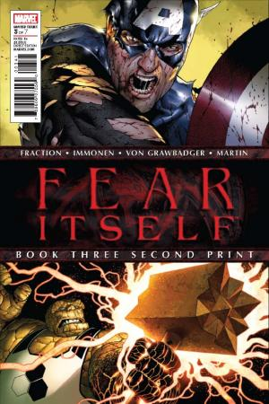 Fear Itself (2010) #3 (2nd Printing Variant)