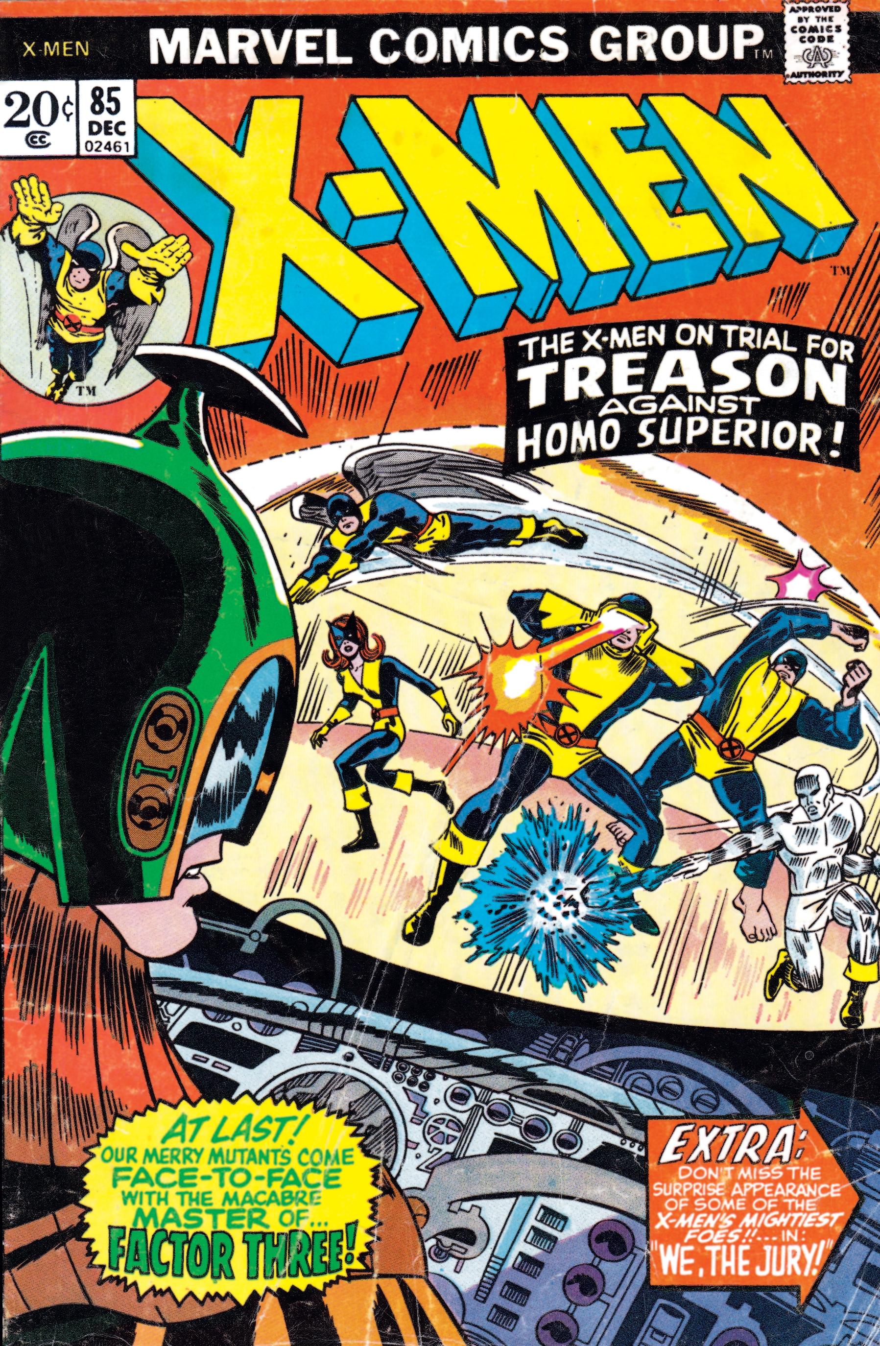 Uncanny X-Men (1963) #85