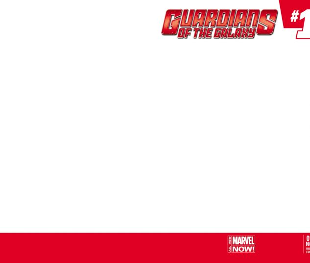 GUARDIANS OF THE GALAXY 11.NOW BLANK COVER VARIANT (ANMN, WITH DIGITAL CODE, INTERIORS ONLY)