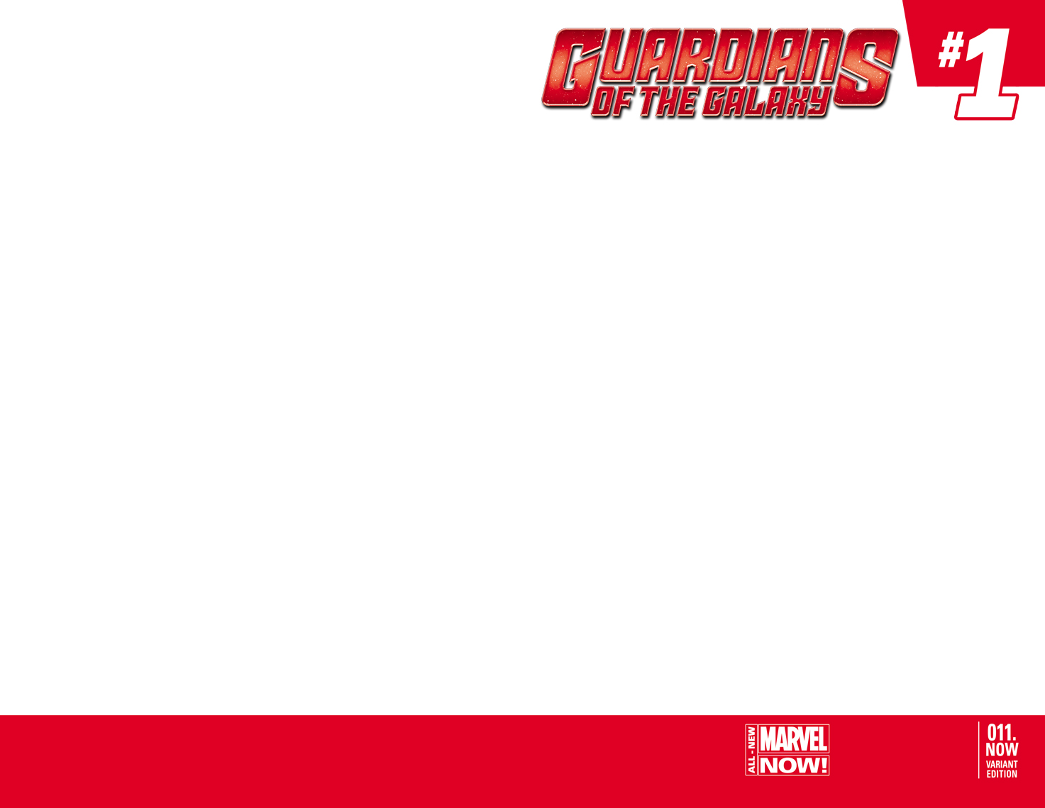Guardians of the Galaxy (2013) #11 (Blank Cover Variant)