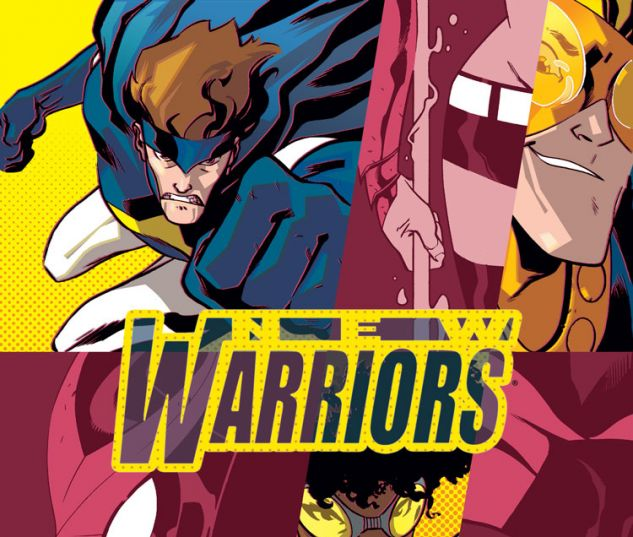 NEW WARRIORS 4 (ANMN, WITH DIGITAL CODE)