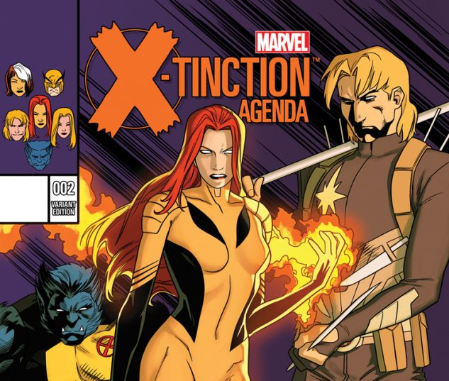 X-TINCTION AGENDA 2 ANKA VARIANT (SW, WITH DIGITAL CODE)