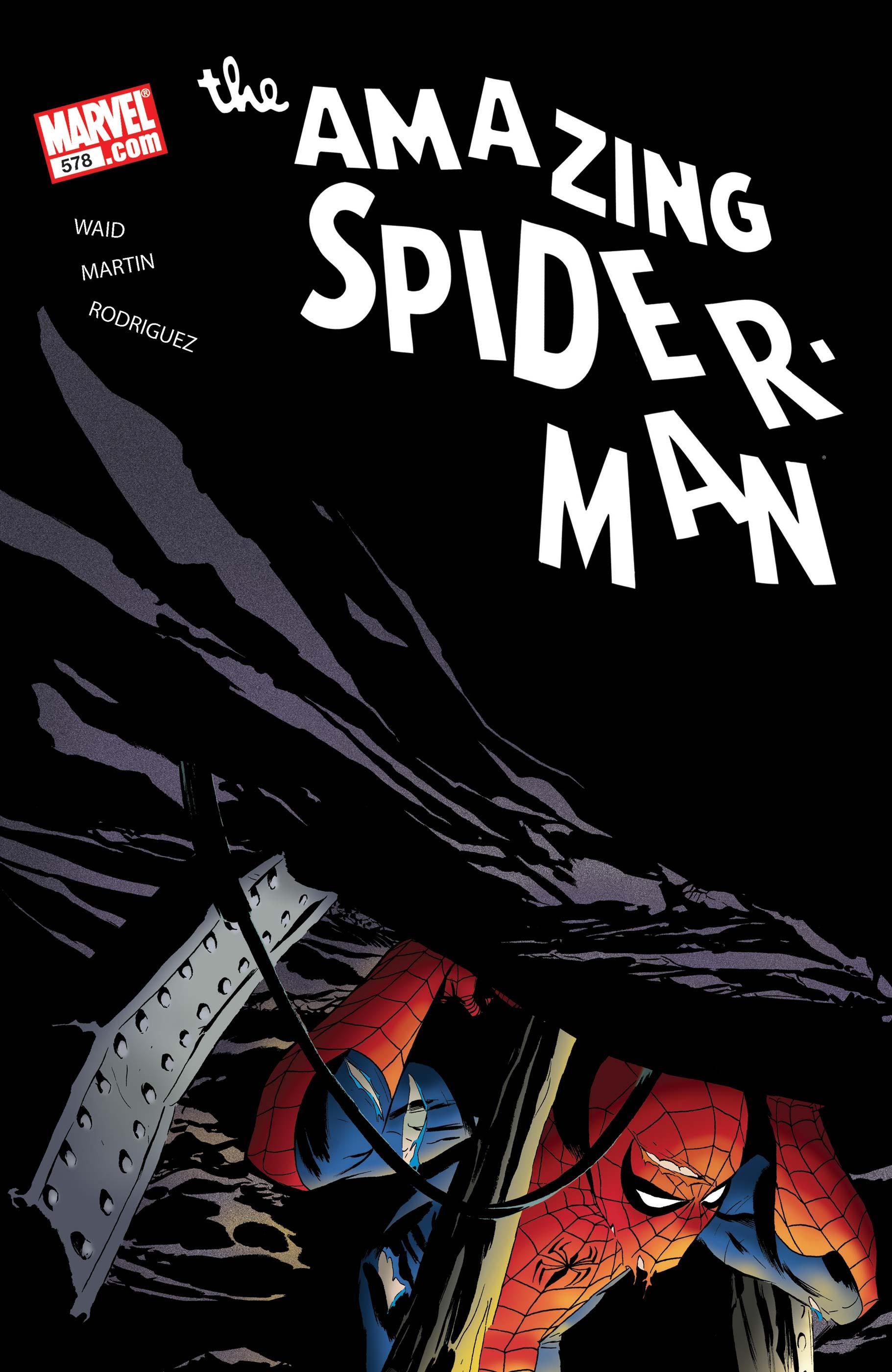 Marvel Comics AMAZING SPIDER-MAN #579 Mark Waid 2008