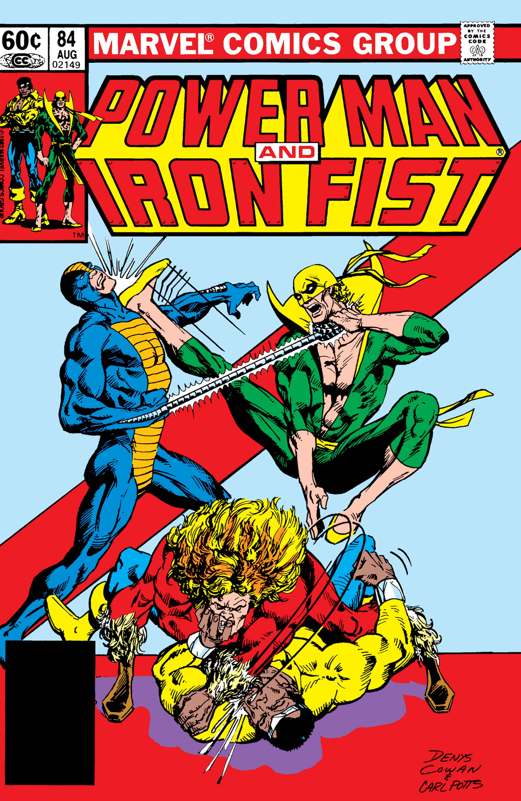 Power Man and Iron Fist (1978) #84