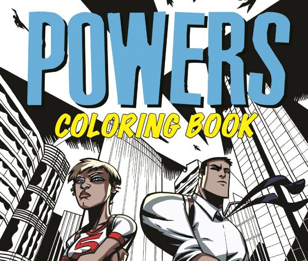 cover from Powers Coloring Book (2017)