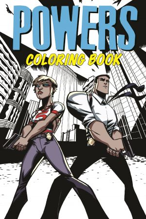 Powers Coloring Book (Trade Paperback)