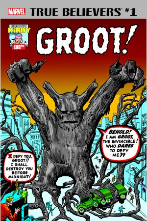 True Believers: Kirby 100th - Groot (2017) #1