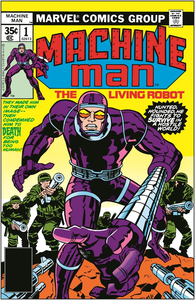 Machine Man (1978) #1