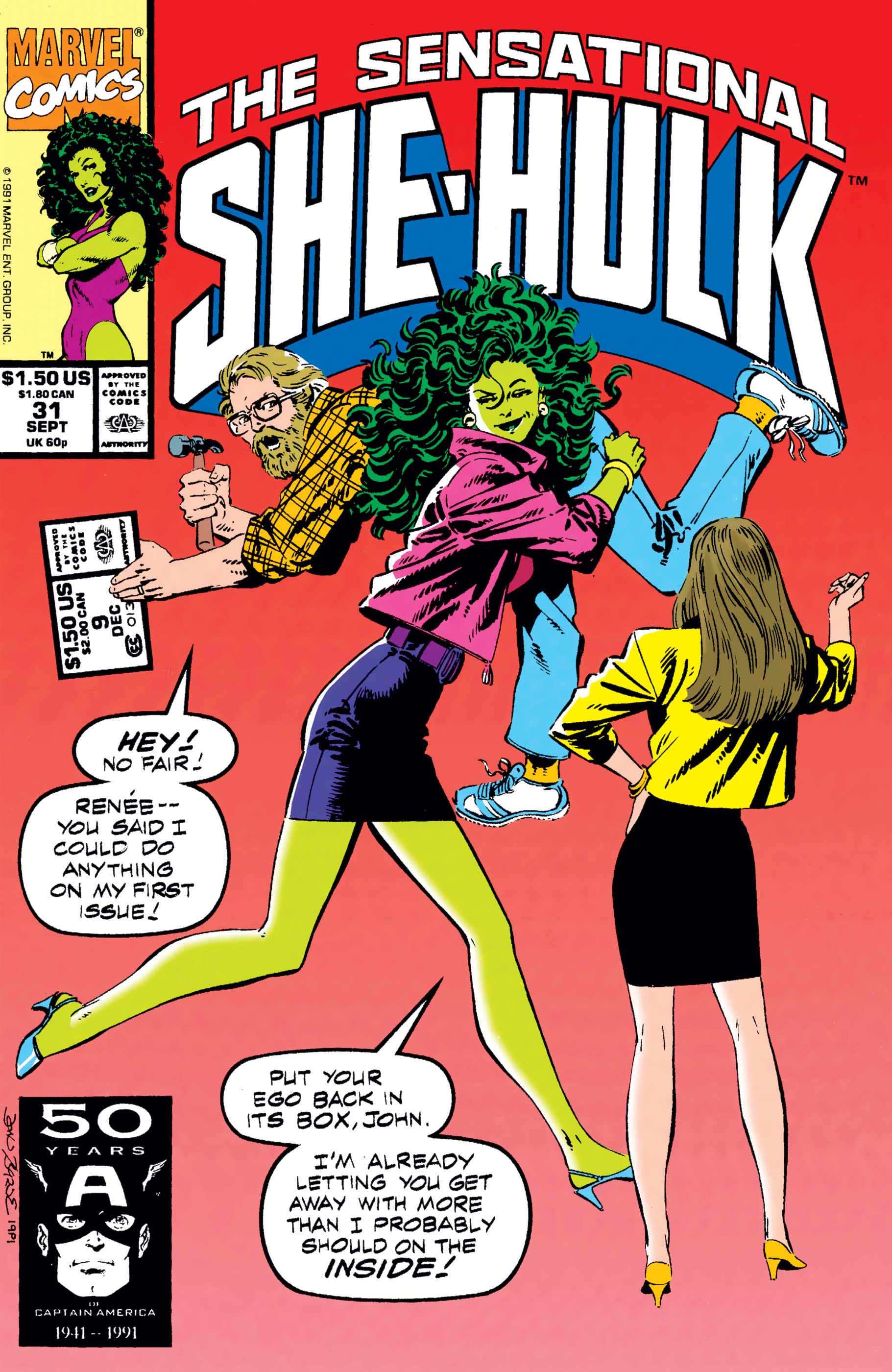 Sensational She-Hulk (1989) #31