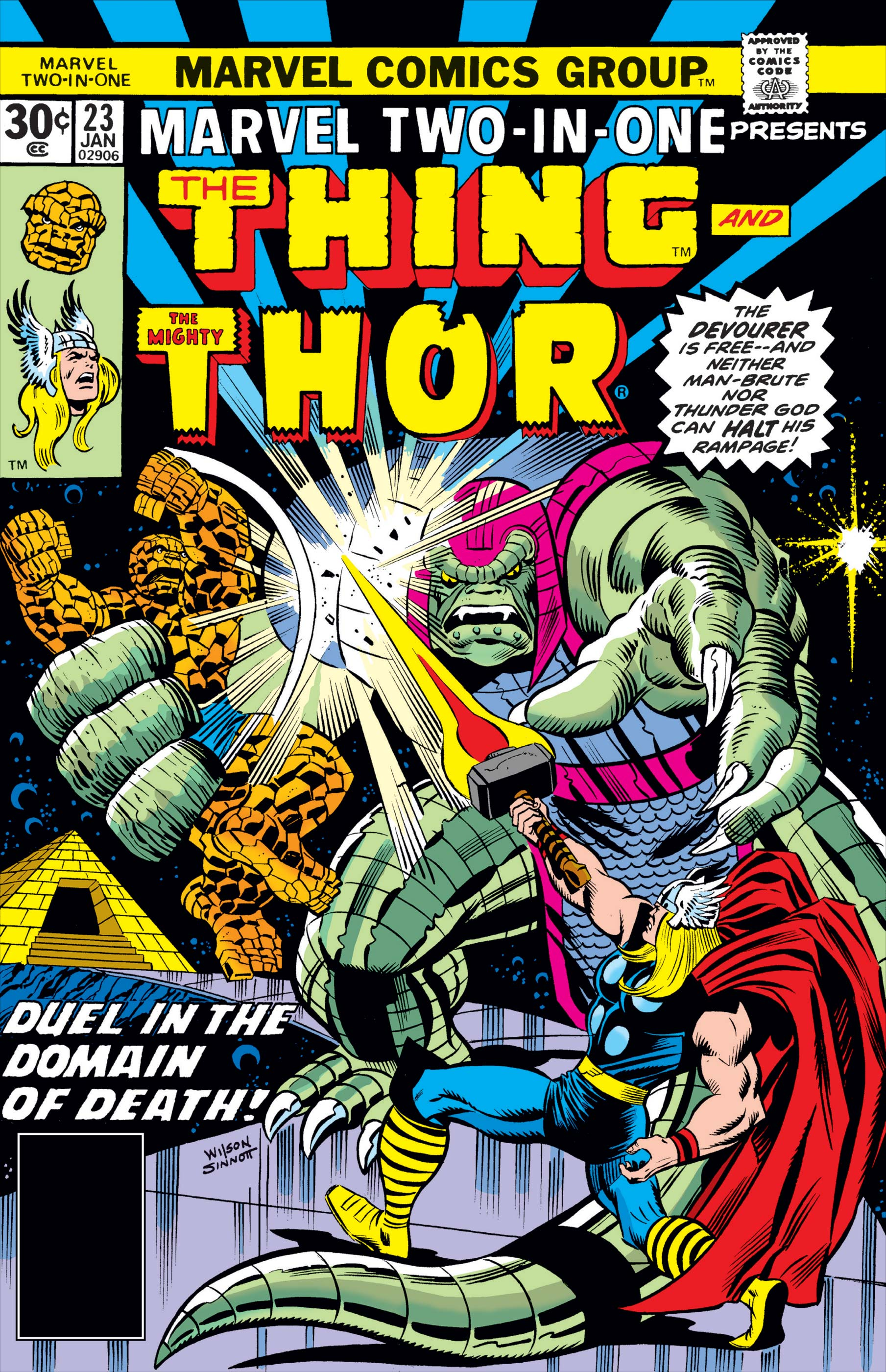 Marvel Two-in-One (1974) #23