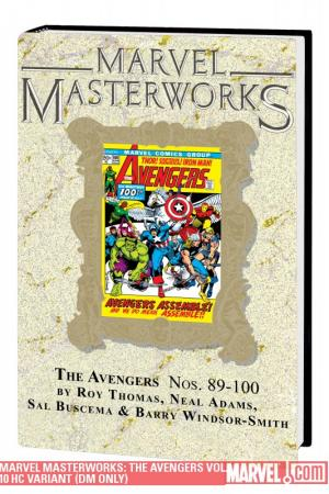Marvel Masterworks: The Avengers Vol. 10 (Direct Market Only Variant) (2010 - Present)