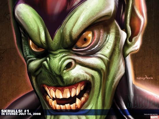 Skrulls! (2008) #1 Wallpaper