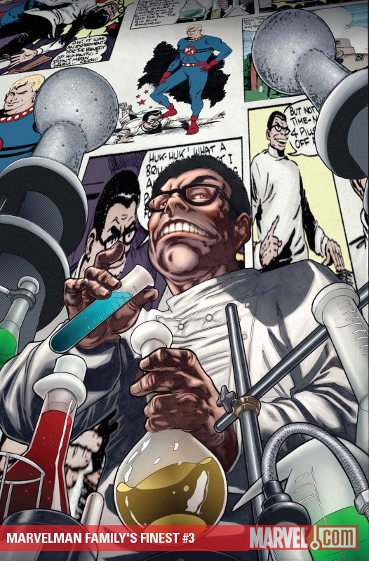 Marvelman Family's Finest (2010) #3