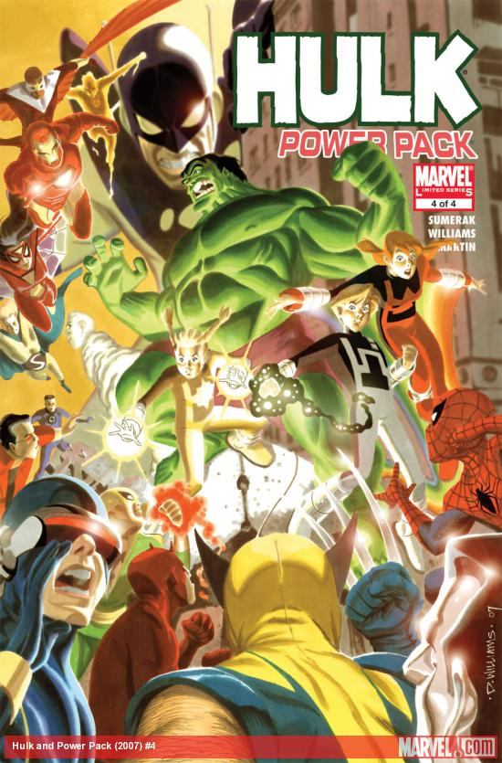 Hulk and Power Pack (2007) #4