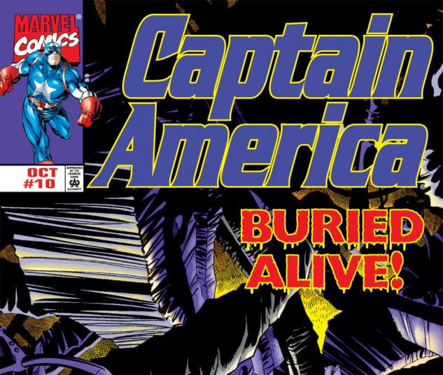 Captain America (1998) #10 Cover