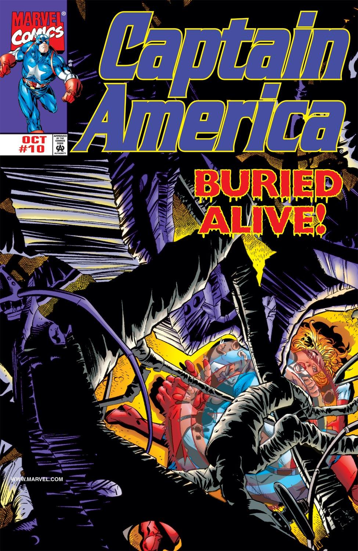 Captain America (1998) #10