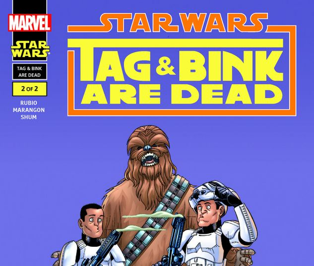 Star Wars: Tag & Bink Are Dead (2001) #2