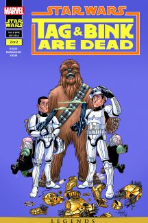 Star Wars: Tag & Bink Are Dead #2