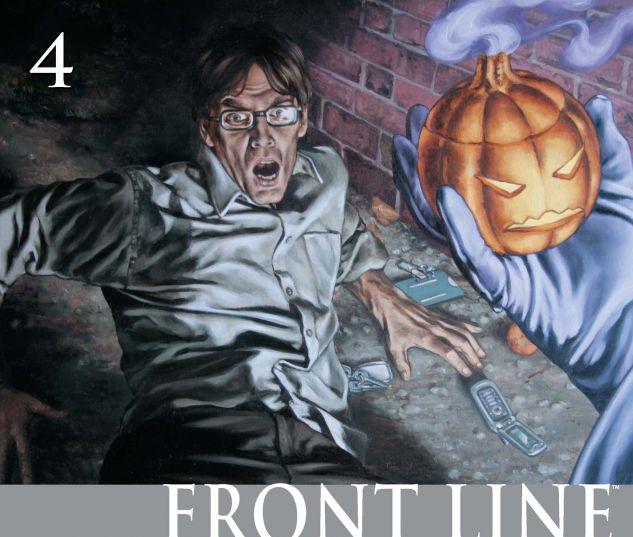CIVIL WAR: FRONT LINE (2006) #4 Cover