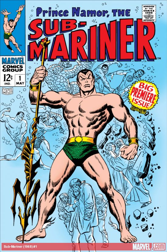 Sub-Mariner (1968) #1