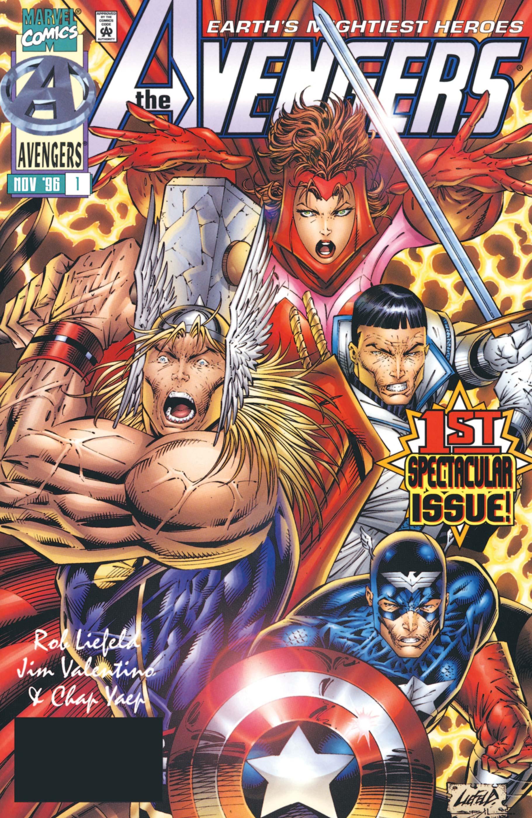Avengers (1996) #1