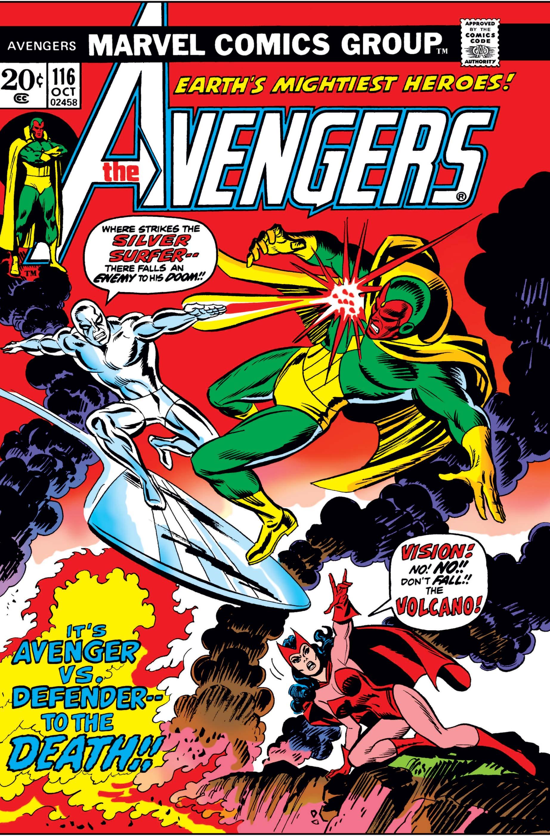 Avengers (1963) #116