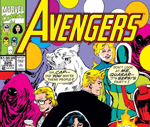 Avengers (1963) #325