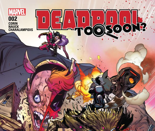 cover from Deadpool: Too Soon (2016) #2