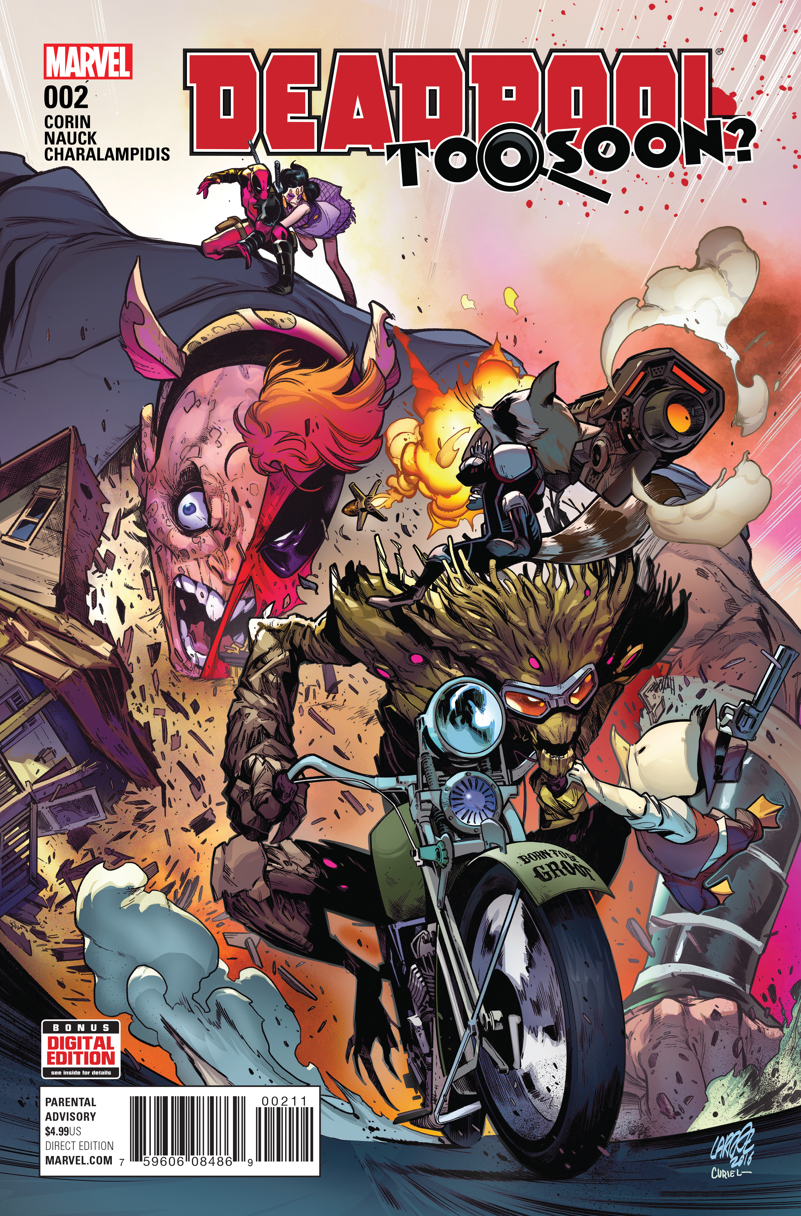 Deadpool: Too Soon? (2016) #2