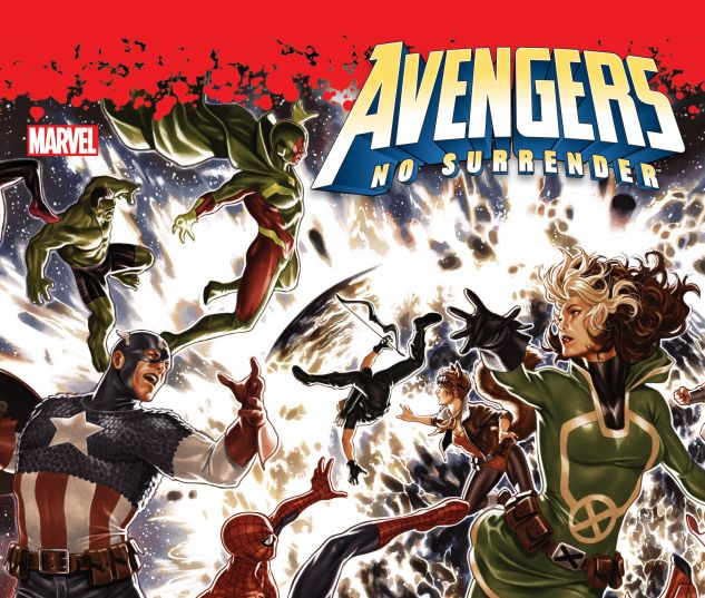 cover from AVENGERS: NO SURRENDER HC (2018) #1